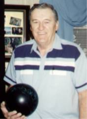 John with bowling ball