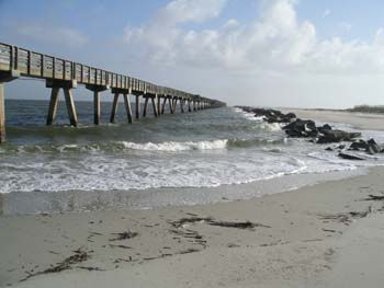 fishing pier and jetty