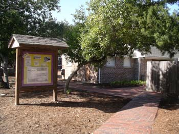 old visitors' center