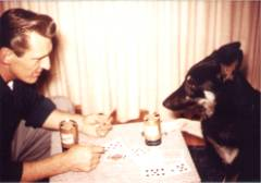 Playing poker with Rocky
